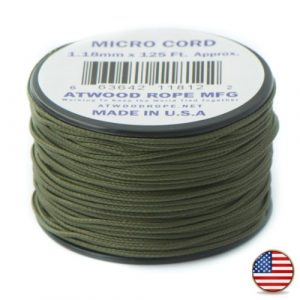 Olive Drab Geen Micro Cord