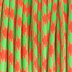 Neon Orange & Neon Green paracord