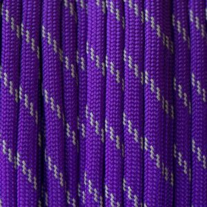 Reflective Acid Purple Paracord