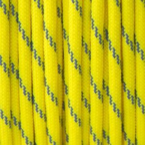 Reflective Canary Yellow Paracord