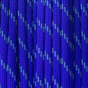 Reflective Electric Blue Paracord