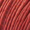 Metallic Glitter Crimson & Red Tracer Paracord