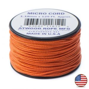 Burnt Orange Micro Cord