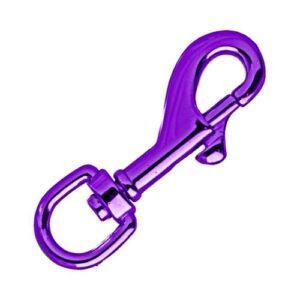 Swivel Eye Carabiner 'Purple' 65 mm